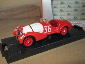 970 Brumm Special S010 Italie Alfa Romeo 1938 8C 2900B No.36 1:43 + Boite