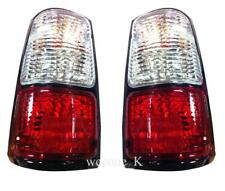 CRYSTAL TAILLIGHTS LAMP WHITE/RED LENS FOR ISUZU TFR PICKUP RODEO 1991 - 1997