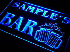 Name Personalized Custom Mugs Cheers Home Bar Beer Neon Sign On/ Off Switch