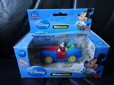 DISNEY~ MICKEY MOUSE & CAR DIECAST MODEL MADE BY MOTORAMA LOOK*****