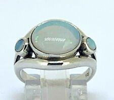 Opal Ring Opal 925er Silver #54 Single Piece