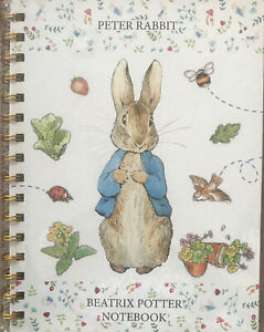 Peter Rabbit A5 Hard Back Wire Bound Notebook Including Dividers