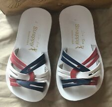 Salt Water Red White and Blue Sandal SIze 6 New     (D)