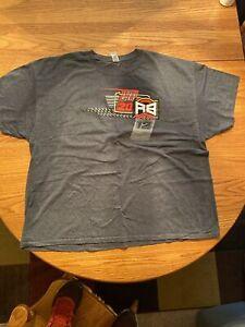 Robert Ballou USAC sprint car shirt Men's 3xl Grey