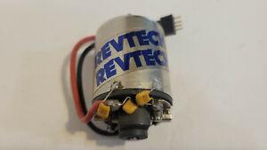 Vintage Revtech Brushed RC Motor. Silver ? Runs.