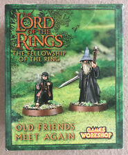 "Games Workshop Lord of the Rings ""Old Friends Meet Again"" Gandalf Frodo"