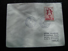 FRANCE - enveloppe 6/9/1954 (cy53) french