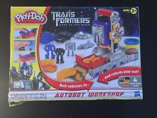 New Play Doh Transformers Dark of the Moon Autobot Workshop 2010  HTF (Read)