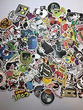 100 Skateboard Stickers bomb Vinyl Laptop Luggage Decals Dope Sticker Lot super