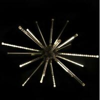 Warm White Meteor Starburst Christmas Holiday Outdoor LED Lighted Decoration