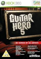 Xbox 360 - Guitar Hero 5 **New & Sealed** Official UK Stock