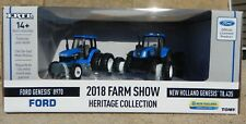 1:64 ERTL 2018 FARM SHOW HERITAGE COLLECTION *FORD 8970 & NEW HOLLAND T8.435*