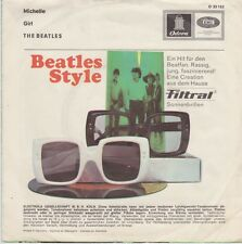 THE BEATLES Michelle D ODEON 23152 PS single Export Lunettes de soleil Publicité RARR