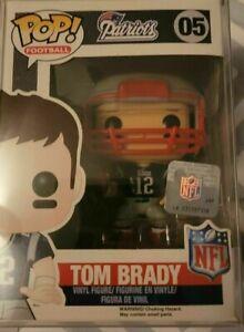 Funko POP! NFL: Tom Brady 05 | NE Patriots  new enland sports football