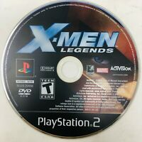 X-Men Legends Sony PlayStation 2 PS2 Game Disc Only Fast Shipping