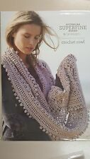 Cleckheaton Pattern #427 Ladies Crochet Cowl to make with Superfine Merino Wool