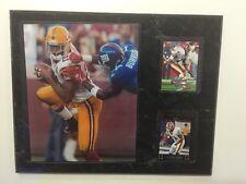 Washington Redskins 12x15 PLAQUE 8X1O PHOTO 2 CARDS Sean Taylor