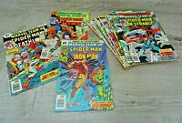 Marvel Comics Team Up 70's Graphic Comic Book Bundle Issues 46 - 58 Spiderman