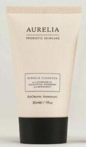 Aurelia Probiotic Skincare MIRACLE CLEANSER Facial Wash 30ml NEW. Foil Sealed.