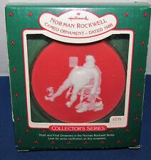 Hallmark Keepsake Norman Rockwell Cameo Ornament 1988 Collector's Series