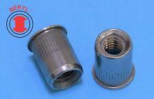 Sfk Stainless Steel Rivet Nut Rivnut Insert Nutsert 10 32 Tsss1032 20pcs