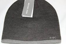 Michael Kors Men's Charcoal Reversible Knit Beanie One Size $42