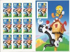 Sylvester & Tweety Stamps - 32cents - Pane of 10 stamps sheet - MINT