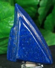 LAPIS LAZULI HAND POLISHED CRYSTAL MINERAL SPECIMEN 135 GRAMS FROM AFGHANISTAN