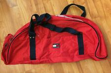 Tommy Hilfiger Duffel Gym Bag Big Flag Logo Workout Carry On Travel