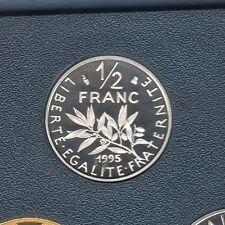 BE - 50 Centimes Semeuse 1995 FDC 4 796 Exemplaires Provenant du Coffret BE