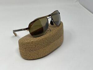 Maui Jim MJ-327-23 GUARDRAILS Polarized Sunglasses - Metallic Gloss Copper