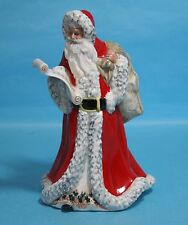 HN3399 Royal Doulton Hand Decorated Father Christmas signed by Michael Doulton