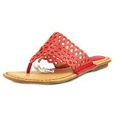 Calzado de mujer rojos sintético