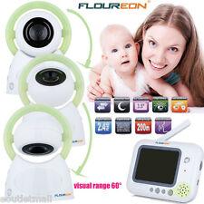 """3.5"""" Audio Video Baby Monitor Inalámbrica Cámara Digital Visor de seguridad EU"""