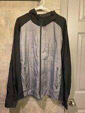 Lululemon Zip Up Mens XL Black and Silver Running Jacket