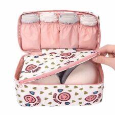 Women Girl Bra Underwear Lingerie Organizer Bag Cosmetic Make Up Storage Travel