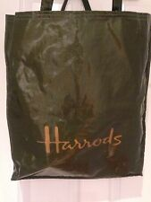 Retro ORIGINALE HARRODS grande shopper pvc/cotone.