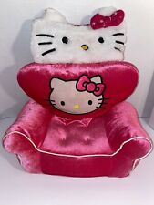 Build A Bear Hello Kitty Pink Plush Chair Couch Sofa Doll Furniture Accessory 14