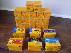 17 Rolls Kodak Ektachrome 64x Color Reversal Film + more!