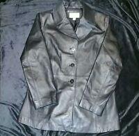 Woman's Vintage Worthington Leather Jacket Size Large