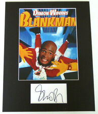 Damon Wayans Authentic Signed Matted Photo Display Autograph, Blankman