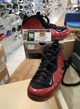 AIR FOAMPOSITE ONE METALLIC SIZE 11 VARSITY RED WHITE BLACK (314996-610)