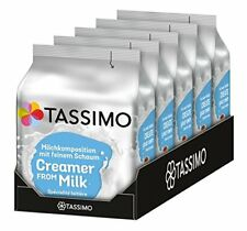 Tassimo Milk Creamer 344 g 16 T discs pods Pack of 5 = 80 Drinks NEW