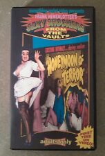 Honeymoon Of Terror VHS Something Weird Video B&W Cult Rare Trash Expliotation