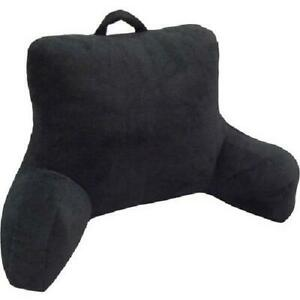 Plush Backrest Pillow Bed Cushion Support Reading Back Rest Arms Chair Bed NEW