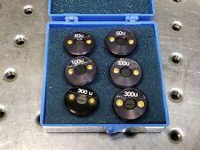 Optometrics Monochromator Optical Slit Sets 50, 100, 300um 6-9001 6-9002 6-9004