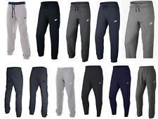 Nike Fleece Mens Joggers Sweat Pants Tracksuit Bottoms Jog Pant Cuffed
