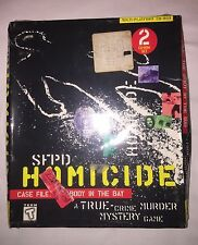 SFPD Homicide Case File: The Body in the Bay True Crime New Sealed Dent Box 1995