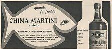 W1721 China Martini calda - Pubblicità del 1958 - Vintage advertising