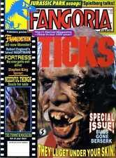 FANGORIA MAGAZINE #123 TICKS, JURASSIC PARK, FRANKENSTEIN, THE TOMMYKNOCKERS